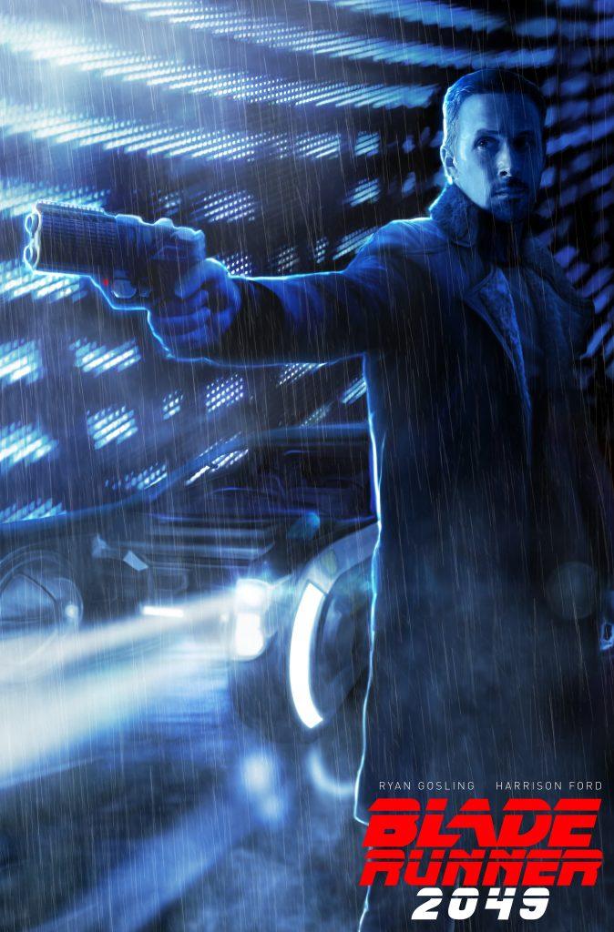 Blade Runner 2049 Officer K - Photoshop digital painting