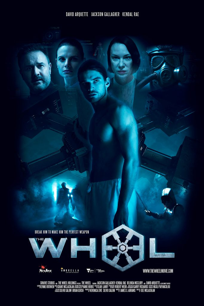 The Wheel Digital Poster Portrait